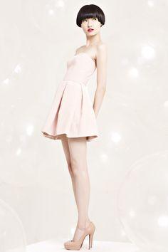 Erin Fetherston Resort 2012 Fashion Show - Wang Xiao
