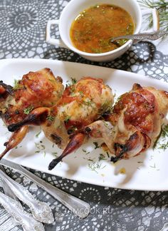Turkey Recipes, Meat Recipes, Cooking Recipes, Xmas Food, Quail, Kitchen Hacks, Tandoori Chicken, Chicken Wings, Food And Drink