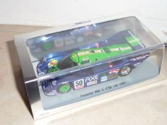 PORSCHE 962 C GrC Almeras - AXE Le Mans 1991 #50 Spark S1943 1:43