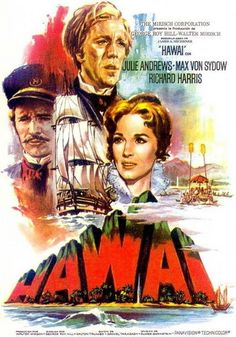 A biggie film many were looking forward to getting out to see fall of 1966 was the film adaptation of the James Michener novel 'Hawaii' it was staring Julie Andrews and Max Von Sydow