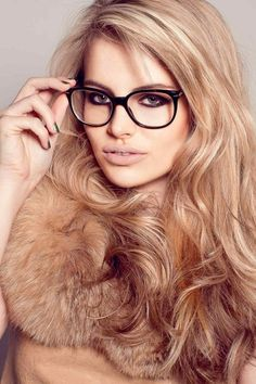 Fur and glasses