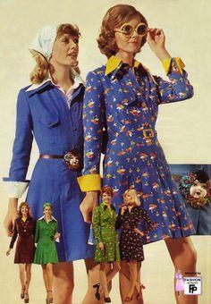 1973 ladies fashion