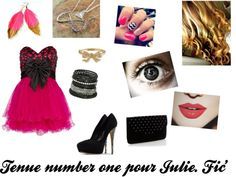 """Tenue Julie. Fiction"" by julie-oreo-de-niall on Polyvore"