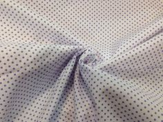 Tessuto cotone lilla a pois