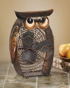 "Very cute, I would love one.  Art Deco Fans for any room in the house or office. ""OWL"""