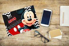 Invitación Mickey Mouse / Mickey Mouse invitación / invitación