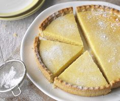 Recipes For Cakes & Desserts, Baking Recipes, Carnation co uk - Light Lemon Tart | Nestlé Carnation