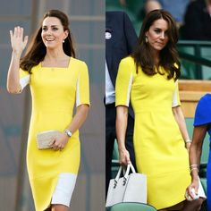 """HELLO! US on Twitter: """"Duchess Kate's best repeat style wins"""