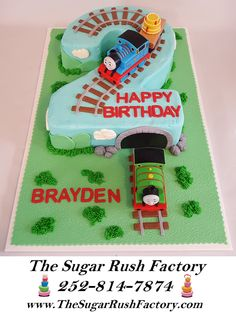 thomas the train cake - Google Search
