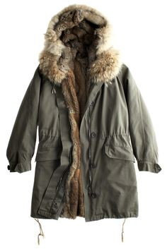 Cocoy Parka by Yves Salomon ... I love this