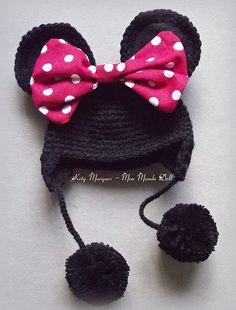 quien me regala un  gorro de estos :D ?? Minnie ♥