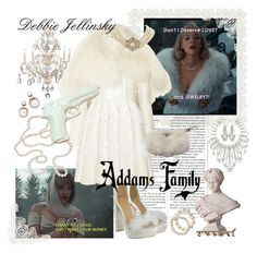 """Debbie Jellinsky ♥"" by medora ❤ liked on Polyvore featuring Kathy Ireland, Alexander McQueen, ZENTS, Old Navy, Carolee LUX, Prada, Chanel and vintage"