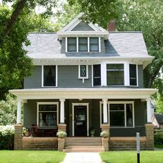6 Jaw Dropping Curb Appeal Makeovers 1920s House And