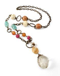 fun spring or summer necklace