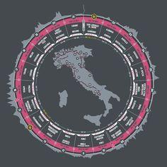 Il percorso del Giro d'Italia 2015 - Il Post