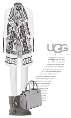 """Boot Remix with UGG : Contest Entry"" by anja-173 ❤ liked on Polyvore featuring Balenciaga, Tory Burch, MICHAEL Michael Kors, UGG Australia, Biya and uggaustralia"