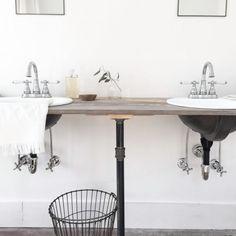 16 Stylish Bathroom Vanities You Won't Believe You Can DIY on domino.com