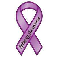 For my daughter and her battle with Epilepsy, March 26th is Wear Purple Day to bring Awareness!!