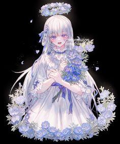 Yandere Anime, Anime Oc, Anime Angel, Anime Chibi, Manga Anime, Anime Girl Cute, Beautiful Anime Girl, Kawaii Anime Girl, Anime Art Girl
