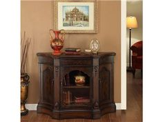 Shop for Coast to Coast Accents 3 Door Cabinet, 39709, and other Living Room Cabinets at Osmond Designs in Orem & Lehi, UT. Steeped in traditional characteristics, this curio styled cabinet is an attractive and functional piece. The finish is a warm wood tone with aged details.