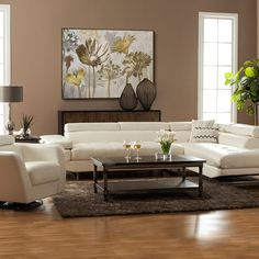 "The Hermosa in white bonded leather is the winning combination of function and style. The chaise is available on the left or right side to accommodate various room configurations and lifts to provide storage.  The optional ottoman also offers a lift lid with storage that is ideal for tucking away blankets, magazines, and more.  Heavy duty webbing combined with 4"" wire springs promises long lasting comfort while the adjustable headrests provide support for your neck and ..."