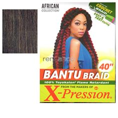 African Collection Bantu Braid  - Color 4 - Synthetic Braiding