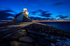 Lighthouse in Oulu by Hannu Vähämaa