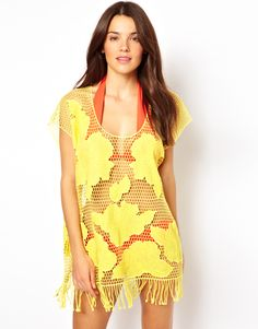 To feed my obsession with cover-ups!  Seafolly Kailua Cover Up