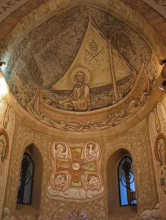 Church of St. Peter (Tiberias, Israel)going here with my daughter Andy brother.