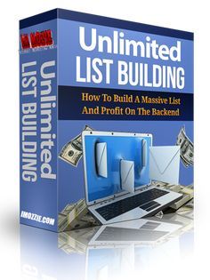 Unlimited List Building Video Training Series Discover The 6 Low Competition, High Results Ways To Build A Massive List So You Can Actually Profit On The Backend As Well! Internet Marketing, Online Marketing, Solo Ads, Social Media Video, Successful Online Businesses, Great Videos, Email List, Training Courses