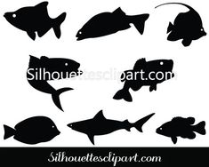 Silhouette Vector Graphics Pictures Clipart Images and more – Silhouettes Vector Giraffe Silhouette, Silhouette Clip Art, Fish Graphic, Fish Vector, Clipart Images, Vector Graphics, Vector Design, Silhouettes, Pictures