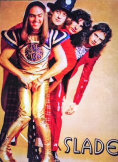 Slade Band, Noddy Holder, Walsall, British Rock, 25th Anniversary, Number One, Lineup, Celebrities, Movies