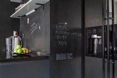 Кухонный фартук для записей на нем мелом (От IdeasMarket)