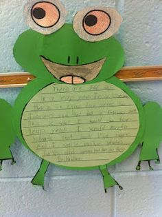 Frog Craftivity Freebie-Good For Leap Year or any Spring Activity