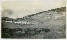 https://flic.kr/p/rdfJiF | ANZAC graves at Brown's Dip cemetery, Gallipoli Peninsula | Description: ANZAC graves at Brown's Dip cemetery Location: Gallipoli Peninsula, Ottoman Empire Date: 1920 Our catalogue reference: WO 32/5640 (4)  This image is part of the War Office photographic collection held at The National Archives. Feel free to share it within the spirit of the Commons.  Please use the comments section below the pictures to share any information you have about the people, places…