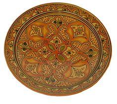Moroccan Ceramic Plate Handmade Pasta Bowl Serving Wall Hanging Blue XXXL for sale online Ceramic Plates, Decorative Plates, Super Bowl, Orange Plates, Scooby Doo Mystery Inc, Moroccan Jewelry, Plates For Sale, Handmade Wall Hanging, Plates And Bowls