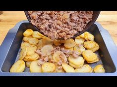 yksinkertainen ja nopea resepti, perunat jauhelihalla, ota koko perhe # 201 - YouTube Minced Beef Recipes Easy, Ground Beef Recipes, Fish Recipes, Great Recipes, Chicken Recipes, Oven Dishes, Mince Meat, Cheap Dinners, Pinterest Recipes