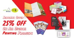 Pax Printers offering you more on this festive season!! Get 25% off on all digital printing products including Business Cards, Flyers, Brochures, Catalogue, Menus, Posters, Banners and much more!!