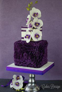 Phalaenopsis (Orchid) Cake