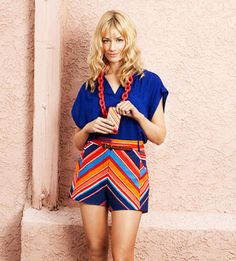 Beth Behrs. March 2012 issue of Ladies' Home Journal.