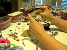 How to Make Ribbon Barrettes Part 1