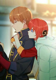 Sougo Okita x Kagura [OkiKagu], Gintama Fanarts Anime, Anime Characters, Manga Anime, Kawaii Anime, Gintama, Okikagu, Anime Kunst, Manga Couple, Another Anime