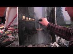 Научиться рисовать городской пейзаж,уроки рисования и живописи, Сахаров - YouTube
