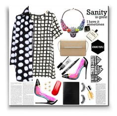 """""""For Genuine People #5"""" by excogitatoris ❤ liked on Polyvore featuring Christian Louboutin, Napoleon Perdis, Bourjois, Eyeko, Clinique and Charlotte Russe"""