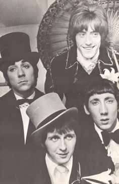 The Who...I love Roger's face in this picture!!