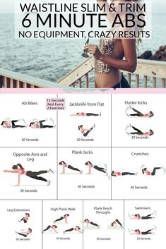 health fitness - Get Slim and Trim with this 6 Minute Abs Workout, You Won't Believe These Results… Transform Fitspo 10 Min Ab Workout, Ab Workout At Home, Workout Challenge, At Home Workouts, Ab Workout Women, Hard Ab Workouts, Plank Workout, Arm Workout No Weights, Bodyweight Arm Workout