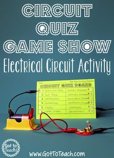 This is one of my all-time favorite lessons to do during our electricity and magnetism unit! It is such an engaging way to get the kids working with circuits. You'll need the supplies pictured below for each student. Students can share a circuit set, if you don't have one for each child. You can grab