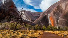 Uluru, NT after rain