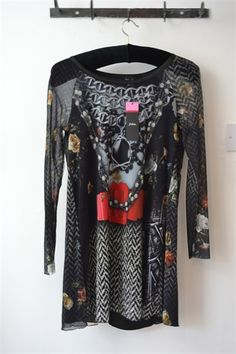 Fehu Print Tunic Dress £165 Style number 52704 http://thelittleblackdressboutique.co.uk/products/196039--fehu-red-belt-print-dress.aspx