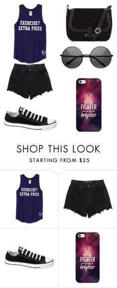"""""""Untitled #91"""" by karenrodriguez-iv on Polyvore featuring T By Alexander Wang, Converse, Casetify, women's clothing, women, female, woman, misses and juniors"""